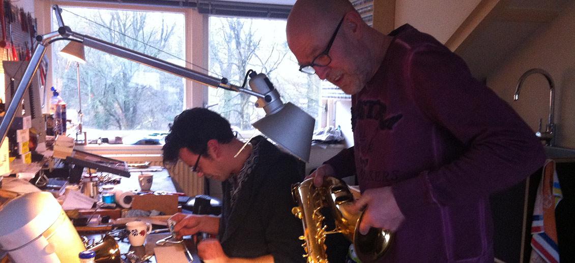 hummel saxofoons onderhoud